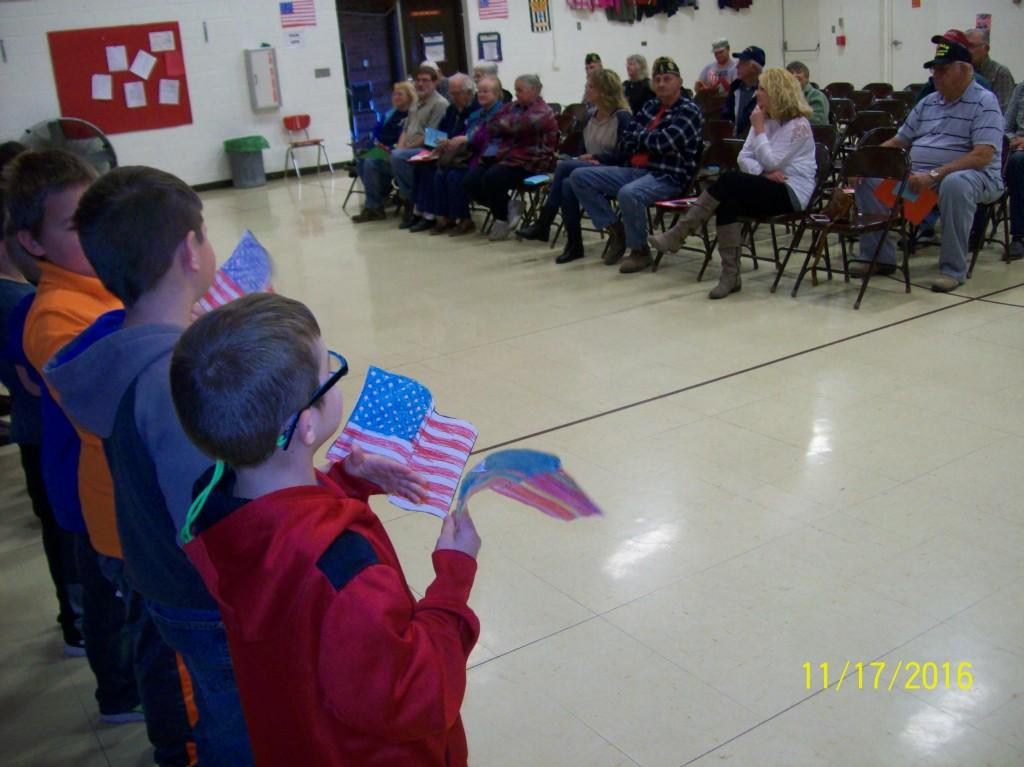 Veterans' Day Observation - First Grade
