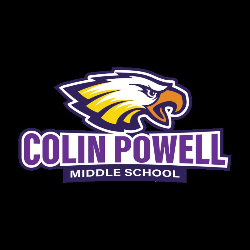 Colin Powell Eagles Logo