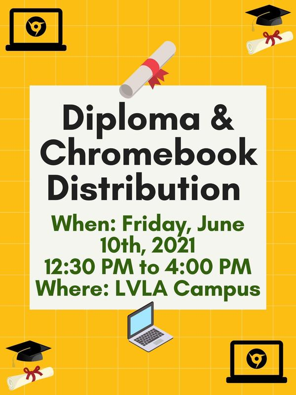 Diploma & Chromebook Distribution Featured Photo