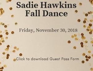 Sadie Hawkins Guest Pass
