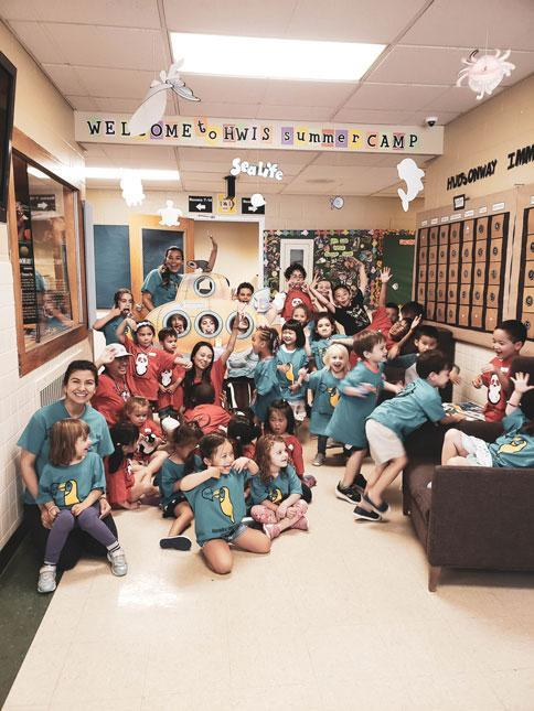 Welcome to Language Immersion Camp at HWIS