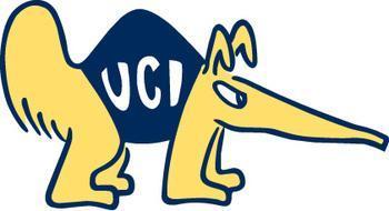 Anteater Mascot from University of California Irvine