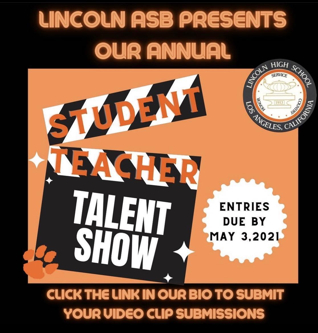 ASB Leadership Student-Teacher Talent Show