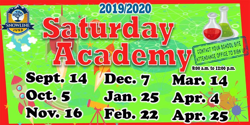 Saturday Academy Coming Soon! Featured Photo