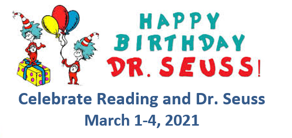Read Across America Week March 1st-4th, 2021 Featured Photo