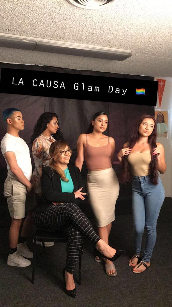 Glam Day at LA CAUSA