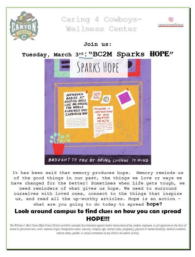 BC2M sparks Hope