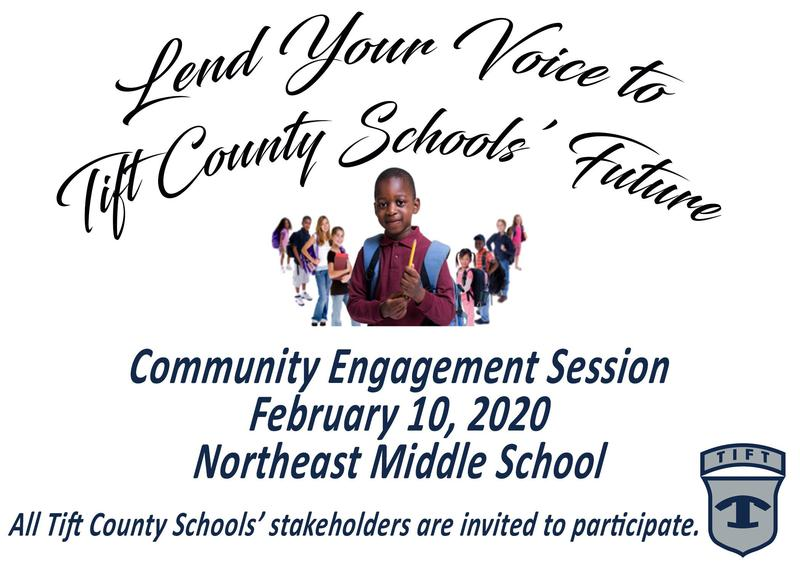 Tift County Schools Community Engagement Session Featured Photo