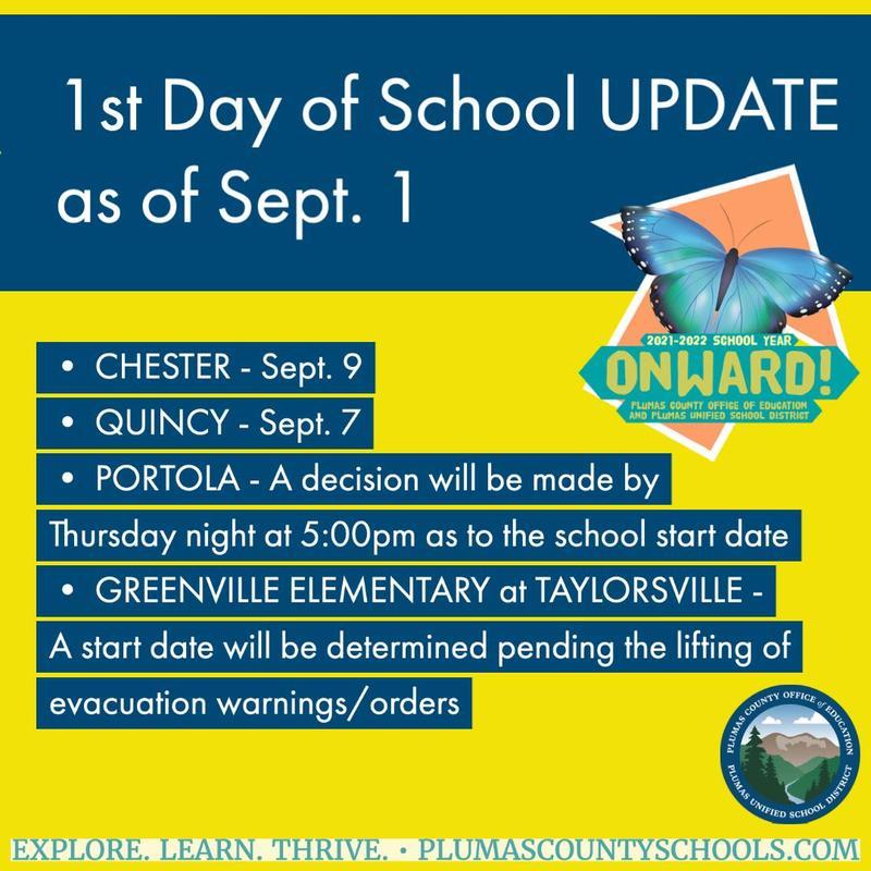 1st Day of School UPDATE 9-1-21
