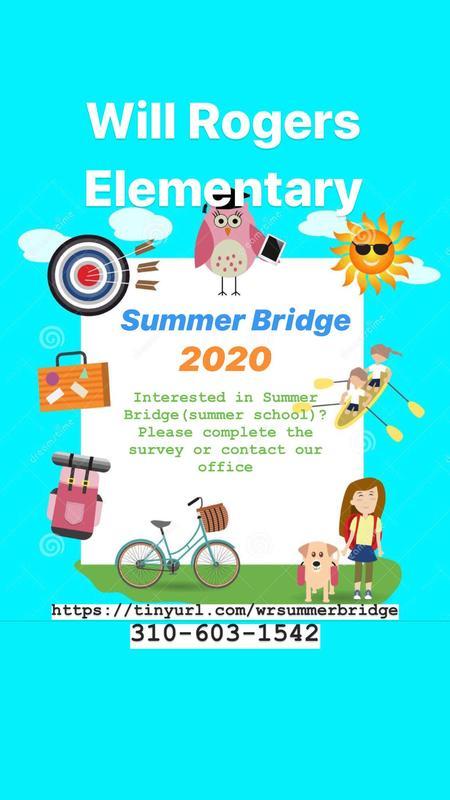 Summer Bridge 2020/Programa de Verano 2020 Featured Photo
