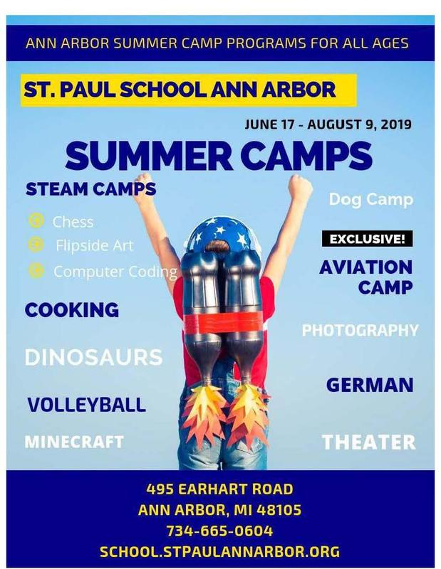 St. Paul Summer Camp Registration OPEN NOW Thumbnail Image