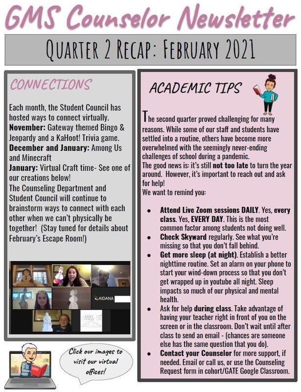 Quarter 2 Recap:  February 2021