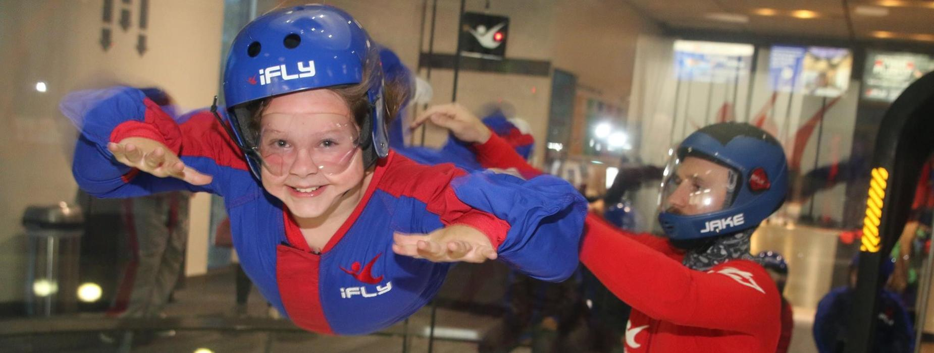 Voyager Project students explores skydiving