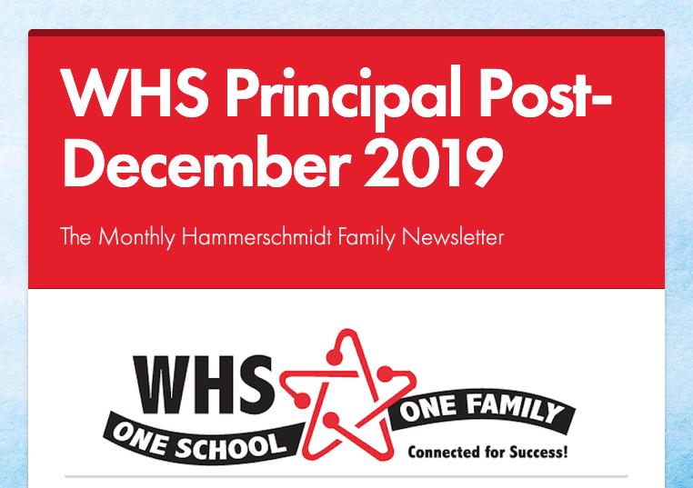 December 2019 Principal Post Newsletter Thumbnail Image