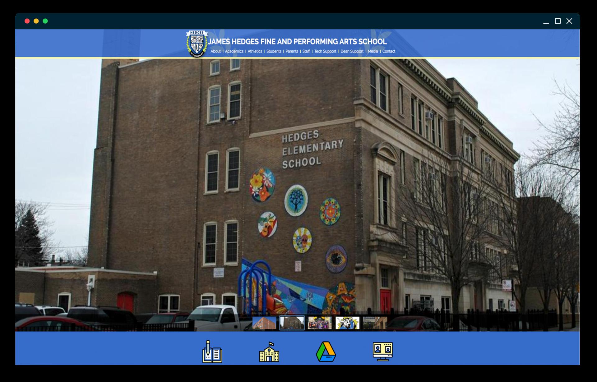 Featured School's Website