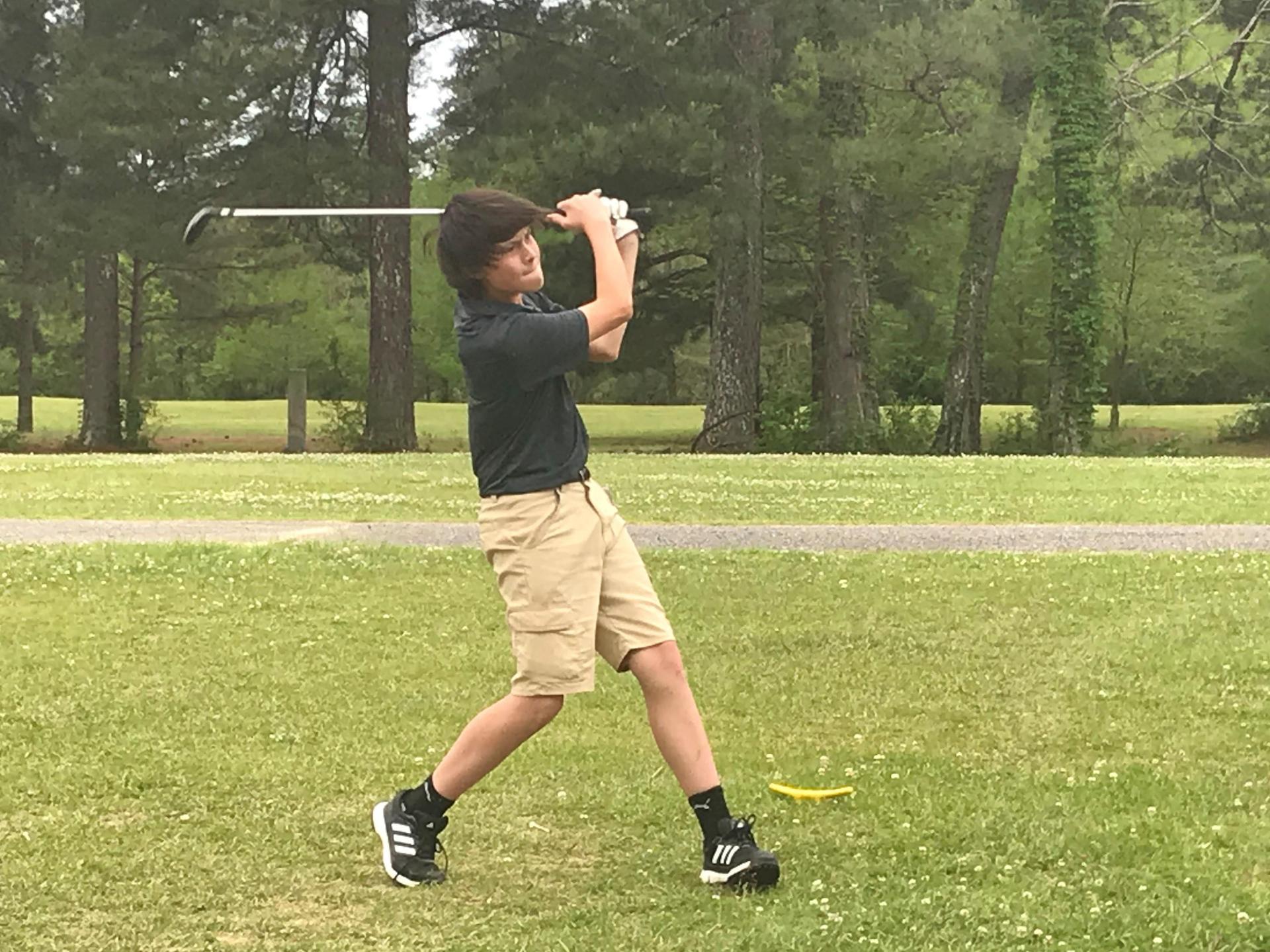 CHS Golfer Wyatt Pickard