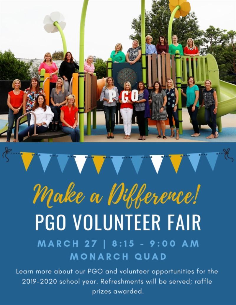 PGO Volunteer Fair Featured Photo