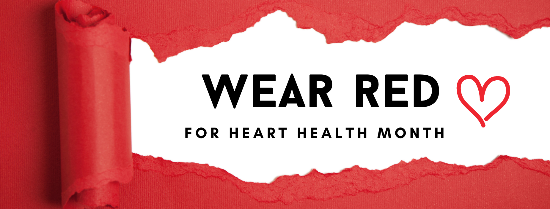 Wear Red for Heart Health Month