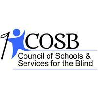 Logo for COSB, Council of Schools and Services for the Blind.
