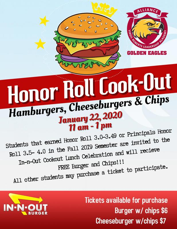 Honor Roll In-N-Out Cook-Out Thumbnail Image