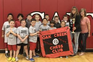 Participation award for Chess Tournament Elementary
