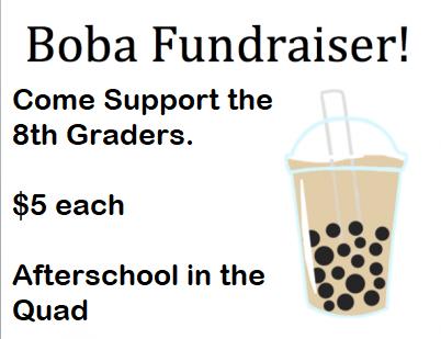 8th Grade BOBA Fundraiser Featured Photo