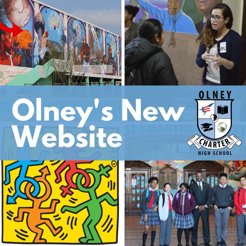 Olney's New Website