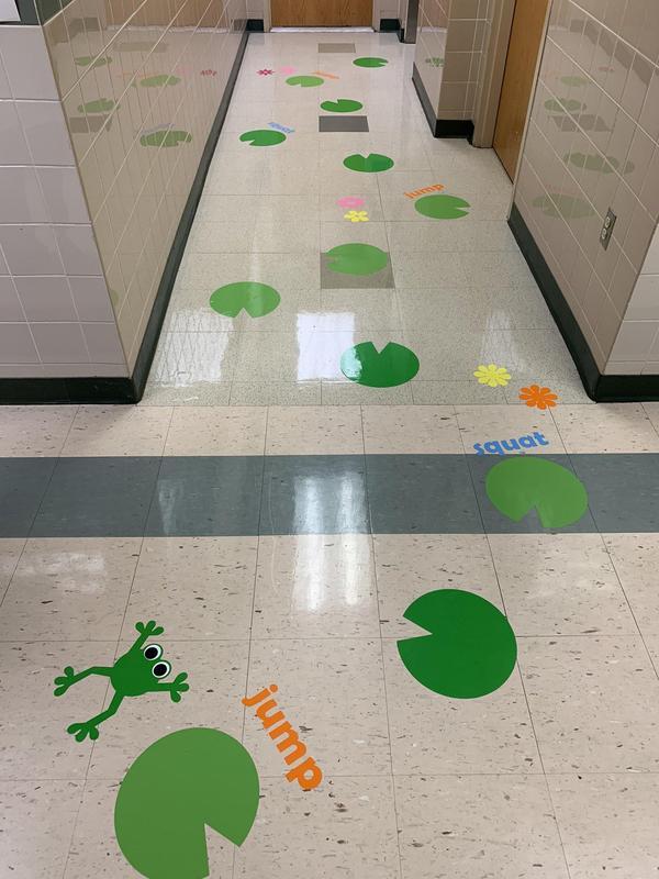 Frog Sensory Path
