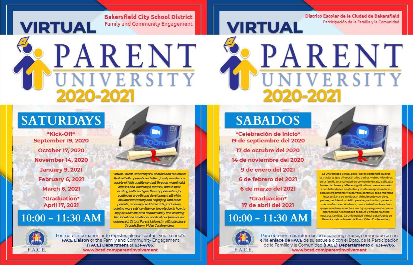 Parent university/Universidad de padres