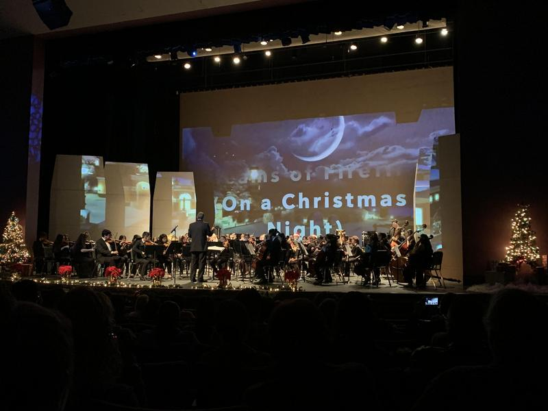 McCabe Orchestra students joined Southwest High School Orchestra on for Holiday Concert Thumbnail Image