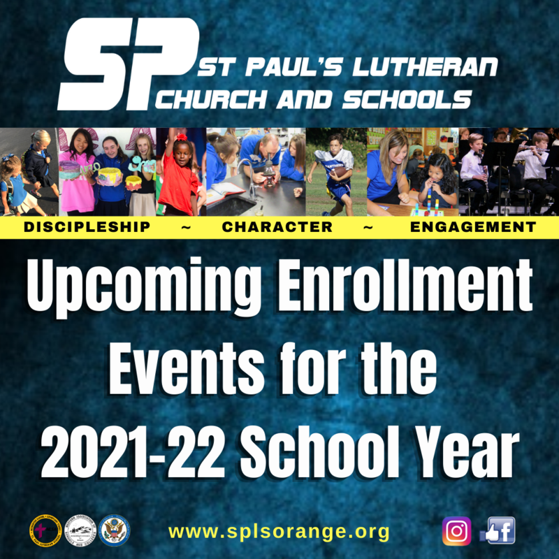 Upcoming Enrollment Events Featured Photo