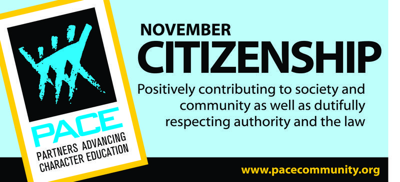 November PACE Character Trait - Citizenship Thumbnail Image