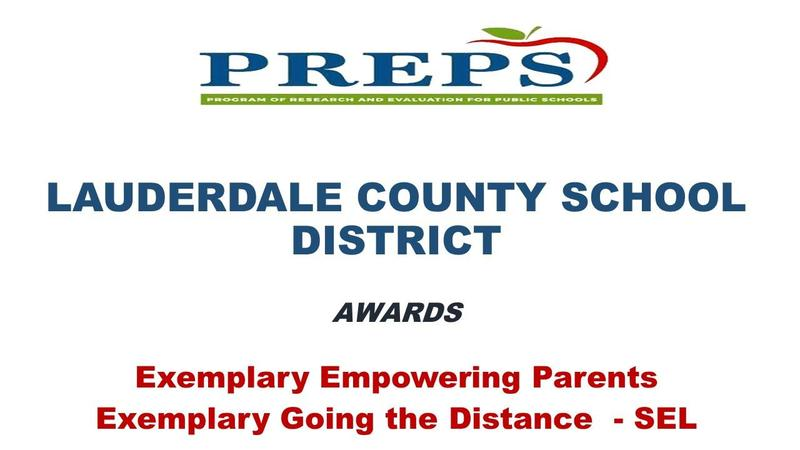 LCSD Prep Award Recipient Graphic