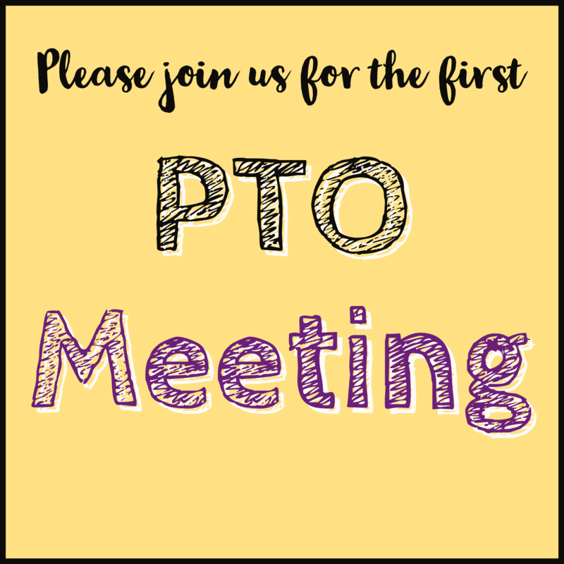 PTO Meeting Announcement