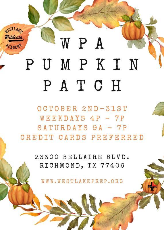 Pumpkin Patch - OCTOBER 2nd-31st! Thumbnail Image