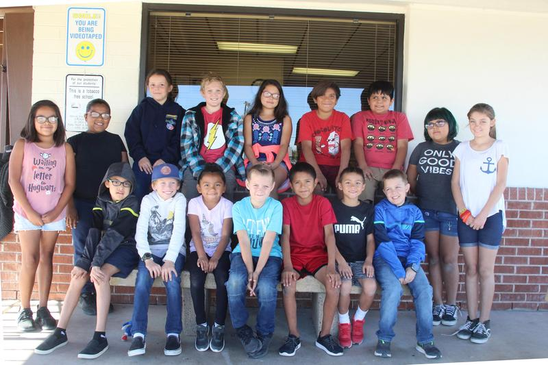 Oct Students of Month