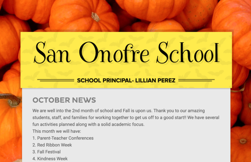October 2019  Newsletter Featured Photo