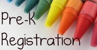 Pre-K Registration 2021-2022 School Year March 1-5, 2021 Featured Photo