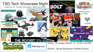 Tech Showcase Flyer