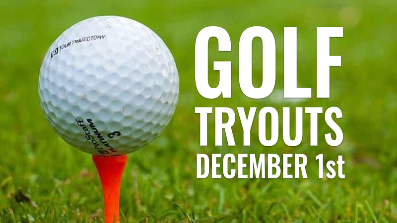 Golf Tryouts