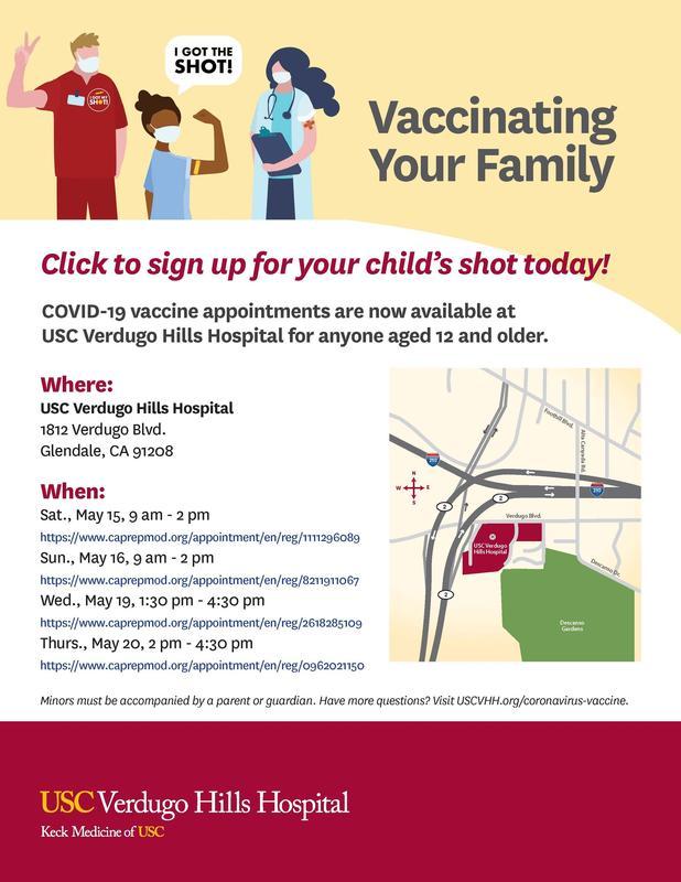 VHH vaccine flyer