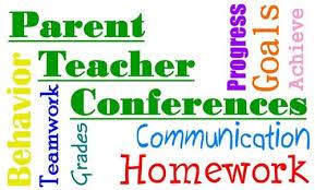 Parent conference graphic
