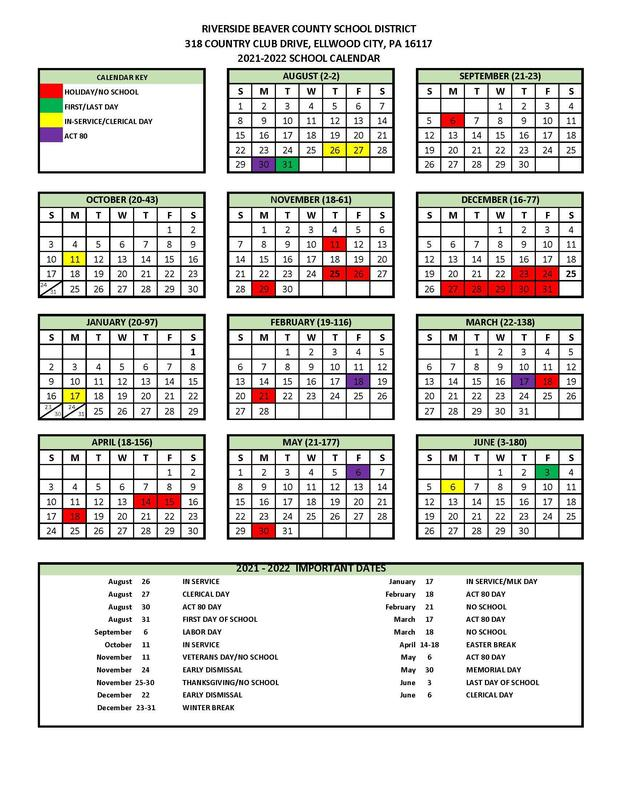 2021-2022 SCHOOL CALENDAR APPROVED Featured Photo