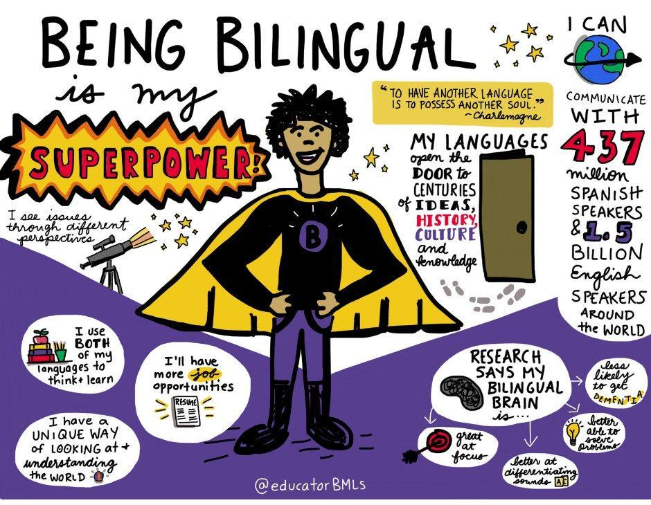 Being Bilingual is my super power