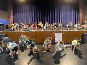 Ukiah Unified students at SPACE Dance Class 3