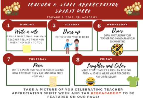 Teacher & Staff Appreciation Week! Featured Photo