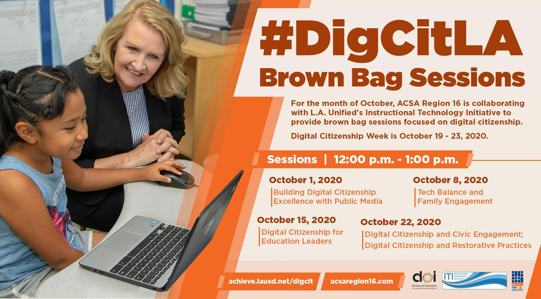 October 2020 Virtual Brown Bag Lunch Image