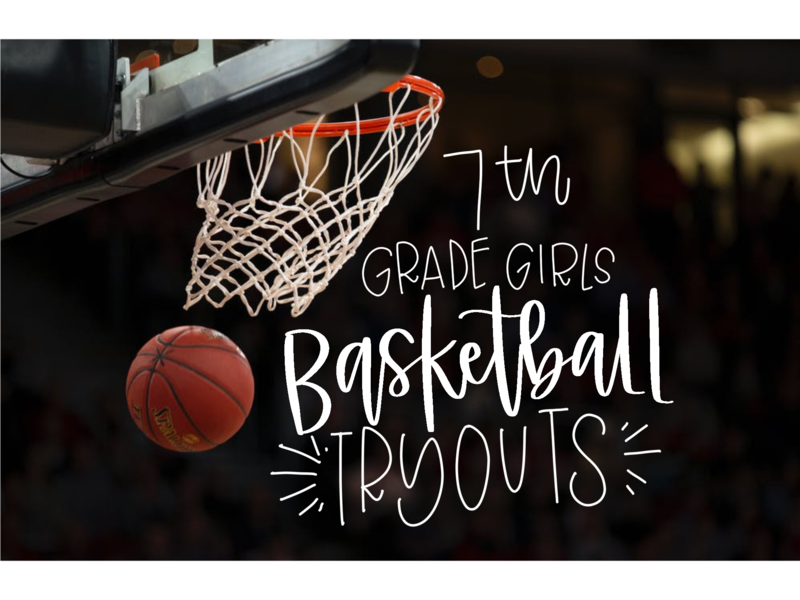 7th Grade Girls Basketball Tryouts this Week Featured Photo