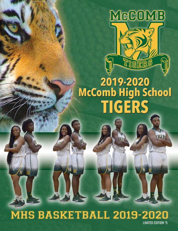 McComb High School Varsity Basketball Program 2019-2020