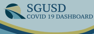 Covid dashboard logo with text